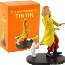 Juguetes Antiguos: FIGURA ARTICULABLE TINTÍN. Lote 233854145