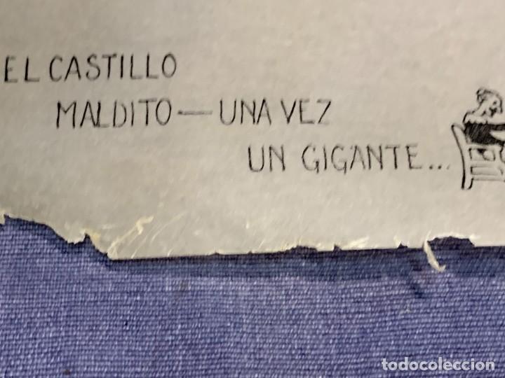 Juguetes Antiguos: PELICULA NIC EL CASTILLO MALDITO UNA VEZ UN GIGANTE - Foto 4 - 233954085
