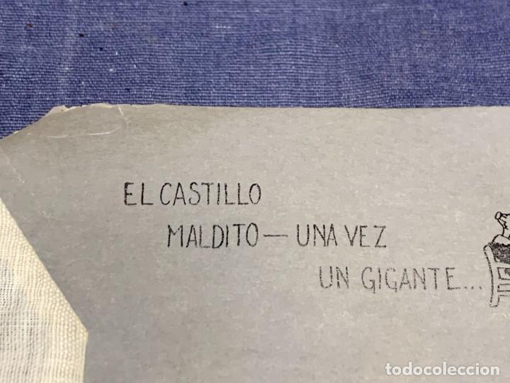 Juguetes Antiguos: PELICULA NIC EL CASTILLO MALDITO UNA VEZ UN GIGANTE - Foto 6 - 233954085