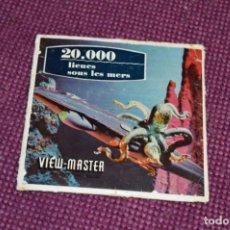 Juguetes Antiguos: LIEUES SOUS LES MERS - B 370 / SET 3 DISCOS VIEW MASTER - VINTAGE AÑOS 50/60 - BUEN ESTADO ¡MIRA!. Lote 234561005