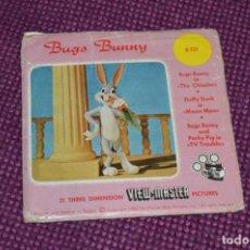 Juguetes Antiguos: BUGS BUNNY 1º - B 531 / SET 3 DISCOS VIEW MASTER - VINTAGE AÑOS 50/60 - BUEN ESTADO ¡MIRA!. Lote 234561175