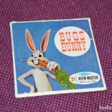Juguetes Antiguos: BUGS BUNNY 2º - B 531 / SET 3 DISCOS VIEW MASTER - VINTAGE AÑOS 50/60 - BUEN ESTADO ¡MIRA!. Lote 234561325