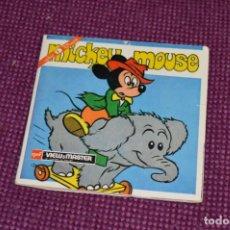 Juguetes Antiguos: MICKEY MOUSE - B 528 / SET 3 DISCOS VIEW MASTER - VINTAGE AÑOS 50/60 - BUEN ESTADO ¡MIRA!. Lote 234561950