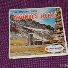 Juguetes Antiguos: LA R. DES GRADES ALPES - C 213 / SET 3 DISCOS VIEW MASTER - VINTAGE AÑOS 50/60 - BUEN ESTADO ¡MIRA!. Lote 234562155