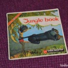 Juguetes Antiguos: JUNGLE BOOK - B 363 / SET 3 DISCOS VIEW MASTER - VINTAGE AÑOS 50/60 - BUEN ESTADO ¡MIRA!. Lote 234563050