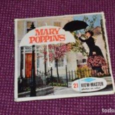 Juguetes Antiguos: MARY POPPINS - B 376 / SET 3 DISCOS VIEW MASTER - VINTAGE AÑOS 50/60 - BUEN ESTADO ¡MIRA!. Lote 234563345