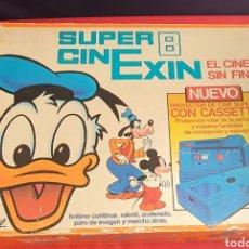 Juguetes Antiguos: JUGUETE PROYECTOR DE CINE SUPER 8 SUPER CIN EXIN EL CI. Lote 236349310
