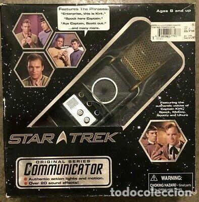 Juguetes Antiguos: STAR TREK REPLICA DEL COMMUNICATOR - DIAMOND - Foto 4 - 236840910
