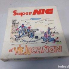 Giocattoli Antichi: CAJA CON 1 PELÍCULA DE SUPER NIC EL VIEJO CAÑÓN.. Lote 242102655