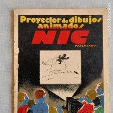 Giocattoli Antichi: NIC FOLLETO PROYECTOR DIBUJOS ANIMADOS. Lote 242137635