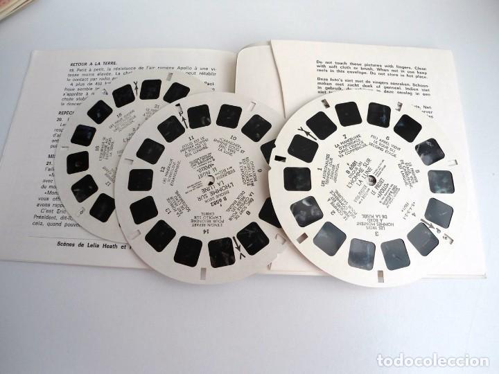 Juguetes Antiguos: LE PROJET APOLLO - GAF Corporation (1964) - TRES DISCOS Y LIBRO - VIEW MASTER - Foto 2 - 242005070