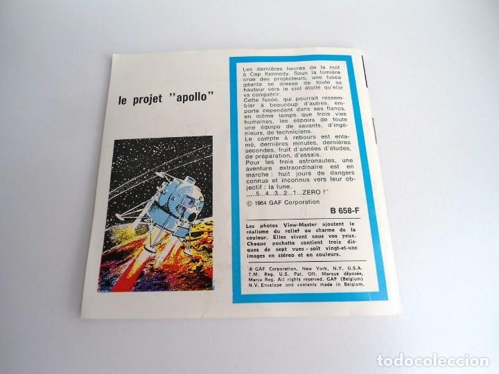 Juguetes Antiguos: LE PROJET APOLLO - GAF Corporation (1964) - TRES DISCOS Y LIBRO - VIEW MASTER - Foto 5 - 242005070