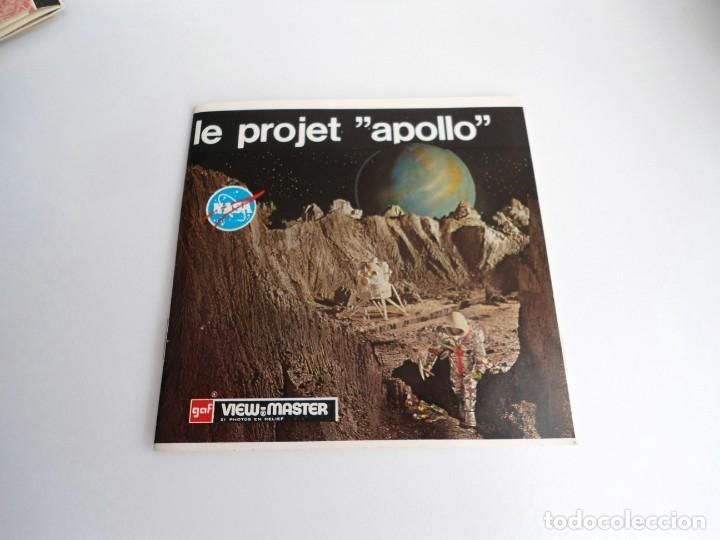 LE PROJET APOLLO - GAF CORPORATION (1964) - TRES DISCOS Y LIBRO - VIEW MASTER (Juguetes - Pre-cine y Cine)