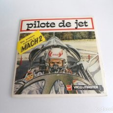 Juguetes Antiguos: PILOTE DE JET - GAF CORPORATION (1971) - TRES DISCOS Y LIBRO - VIEW MASTER. Lote 242005325