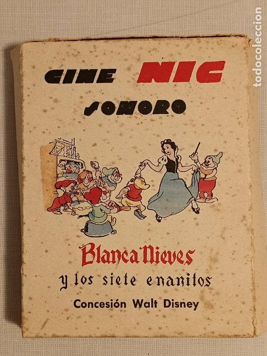 CINE NIC SONORO BLANCA NIEVES Y LOS 7 ENANITOS (Juguetes - Pre-cine y Cine)