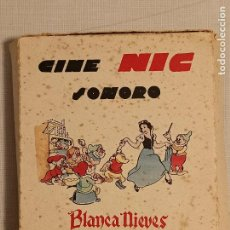 Juguetes Antiguos: CINE NIC SONORO BLANCA NIEVES Y LOS 7 ENANITOS. Lote 245066545