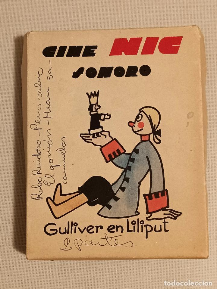 CINE NIC SONORO GULLIVER EN LILIPUT (Juguetes - Pre-cine y Cine)