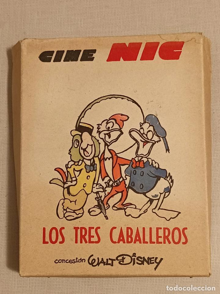 CINE NIC LOS TRES CABALLEROS (Juguetes - Pre-cine y Cine)