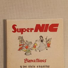 Juguetes Antiguos: SUPER CINE NIC BLANCA NIEVES Y LOS 7 ENANITOS. Lote 245487450