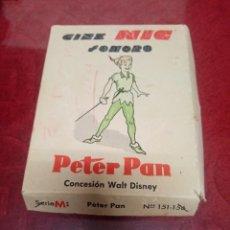 Juguetes Antiguos: PELICULAS CINE NIC. SONORO. PETER PAN. CONTIENE 6 DE PETER PAN. Lote 245969900