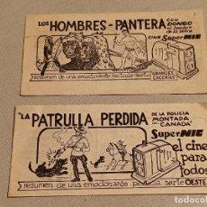 Juguetes Antiguos: 2 TRÍPTICOS DE PUBLICIDAD NIC. Lote 246167095