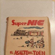 Juguetes Antiguos: NIC EL ASALTO DEL TREN. Lote 246172590