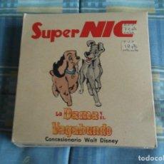 Giocattoli Antichi: CAJA COMPLETA SUPER NIC.LA DAMA Y EL VAGABUNDO. Lote 247183290