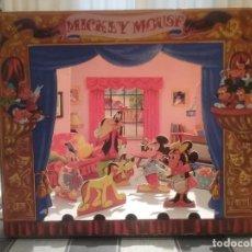 Juguetes Antiguos: TEATRO TEATRILLO DE MICKEY Y SUS AMIGOS WALT DISNEY 1957. Lote 248052575