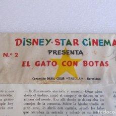 Juguetes Antiguos: LOTE DE 6 PELICULAS PARA EL CINE STAR CINEMA DISNEY AÑOS 50.VER LOS TITULOS.... Lote 252931120