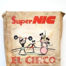 Brinquedos Antigos: SUPER NIC CAJA CON 6 PELICULAS SERIE CUENTOS EL CIRCO. Lote 264351319