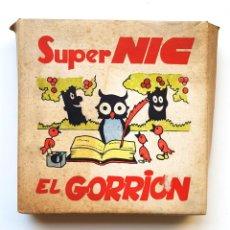 Brinquedos Antigos: SUPER NIC CAJA CON 6 PELICULAS SERIE CUENTOS EL GORRIÓN. Lote 264351489
