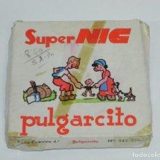 Juguetes Antiguos: ANTIGUA CAJA CON 6 PELICULAS SUPER NIC - PULGARCITO, LA MONA, LA VENGANZA, LA ISLA DEL TESORO, NEGRO. Lote 267704189