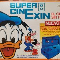 Juguetes Antiguos: SUPER 8 CINEXIN + PELÍCULA. FUNCIONA. Lote 269037953