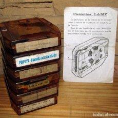 Juguetes Antiguos: CINE LAMY SUPER 8 - LOTE DE 6 PELICULAS. Lote 269205263