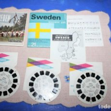 Juguetes Antiguos: PELICULA VIEW-MASTER SWEDEN. Lote 270973013