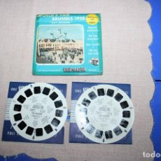 Juguetes Antiguos: PELICULA VIEW-MASTER BRUSSELS. Lote 270973113