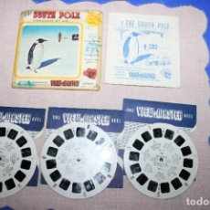 Juguetes Antiguos: PELICULA VIEW-MASTER SOUTH POLE. Lote 270973393