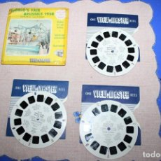 Juguetes Antiguos: PELICULA VIEW-MASTER BRUSSELS 1958. Lote 270973568