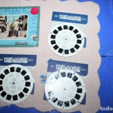 Juguetes Antiguos: PELICULA VIEW-MASTER ALSACE FRANCE. Lote 270973618