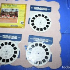 Juguetes Antiguos: PELICULA VIEW-MASTER LE PAYS BASQUE FRANCE. Lote 270973798