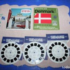 Juguetes Antiguos: PELICULA VIEW-MASTER DENMARK. Lote 270973888