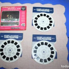 Juguetes Antiguos: PELICULA VIEW-MASTER BRUSSELS 1958. Lote 270974288
