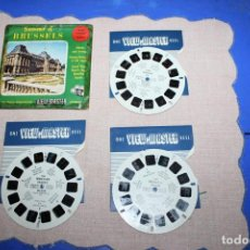 Juguetes Antiguos: PELICULA VIEW-MASTER BRUSSELS 1958. Lote 270974363