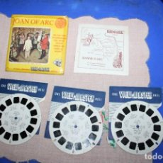 Juguetes Antiguos: PELICULA VIEW-MASTER JOAN OF ARC. Lote 270974438