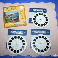 Juguetes Antiguos: PELICULA VIEW-MASTER BRITTANY FRANCE. Lote 270974528