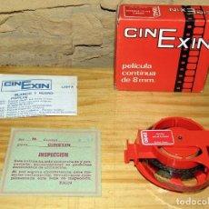 Juguetes Antiguos: CINE EXIN. PELICULA 0842. GOOFY EN EL TORNEO. CAJA ORIGINAL Y DOCUMENTACION. NUEVA. Lote 271383783