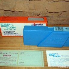 Brinquedos Antigos: CINE EXIN. PELICULA 0821. DONALD Y EL CABALLO SALVAJE. CAJA ORIGINAL Y DOCUMENTACION. NUEVA. Lote 275215273