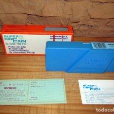 Brinquedos Antigos: CINE EXIN. PELICULA 0829. PLUTO EN EL ZOO. CAJA ORIGINAL Y DOCUMENTACION. NUEVA. Lote 275215323