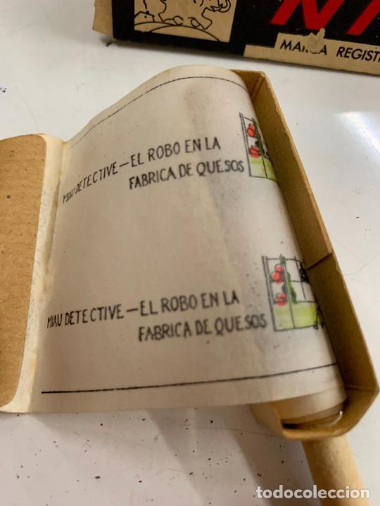Juguetes Antiguos: CINE NIC, MIAU EL DETECTIVE - El robo en la fabrica de quesos. Años 50 - Foto 3 - 277171268