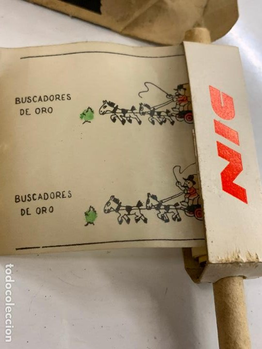 Juguetes Antiguos: CINE NIC, BUSCADORES DE ORO. Años 50 - Foto 2 - 277172313